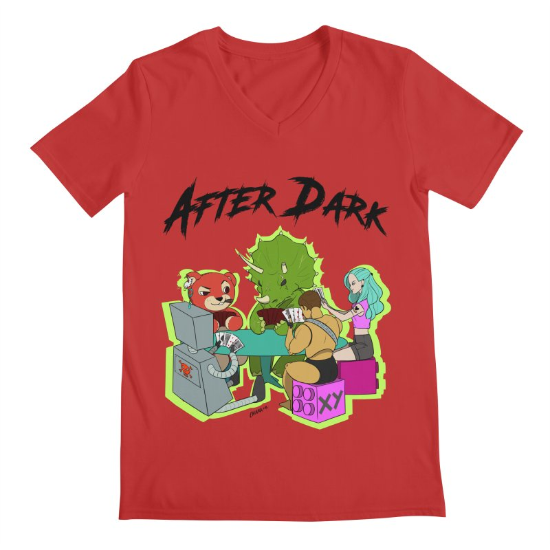 After Dark by XY Men's Regular V-Neck by XY The Brand