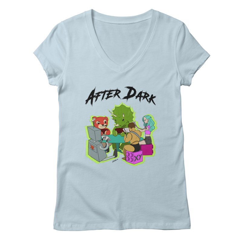 After Dark by XY Women's Regular V-Neck by XY The Brand