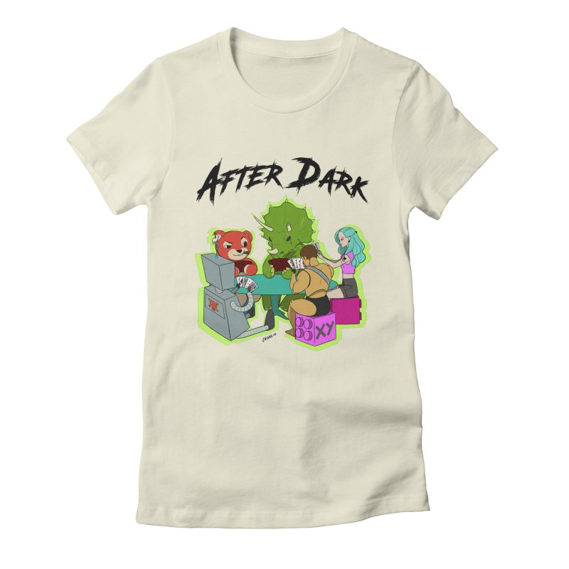 After Dark by XY Women's Fitted T-Shirt by XY The Brand