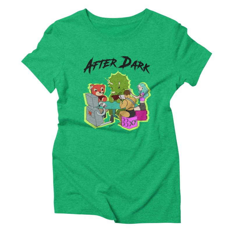 After Dark by XY Women's Triblend T-Shirt by XY The Brand
