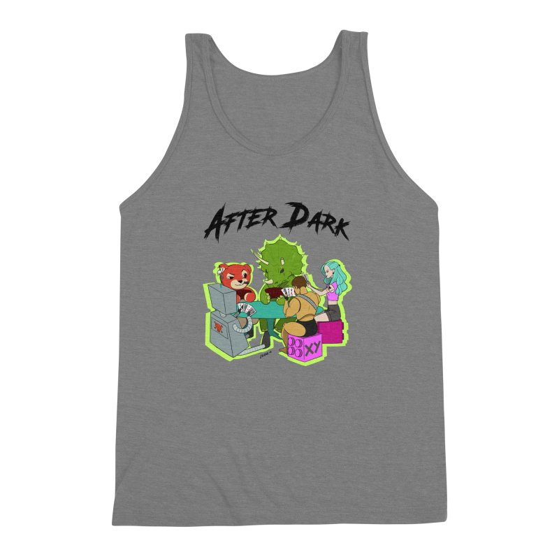 After Dark by XY Men's Triblend Tank by XY The Brand