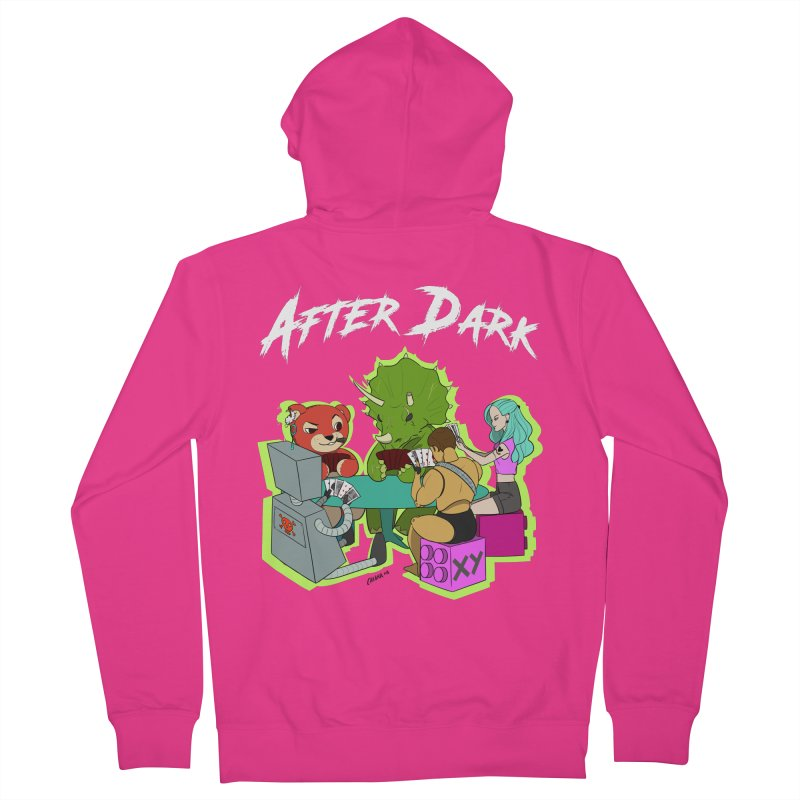 After Dark Men's French Terry Zip-Up Hoody by XY The Brand