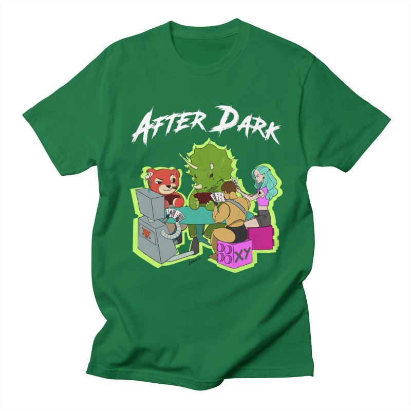 After Dark Women's Regular Unisex T-Shirt by XY The Brand