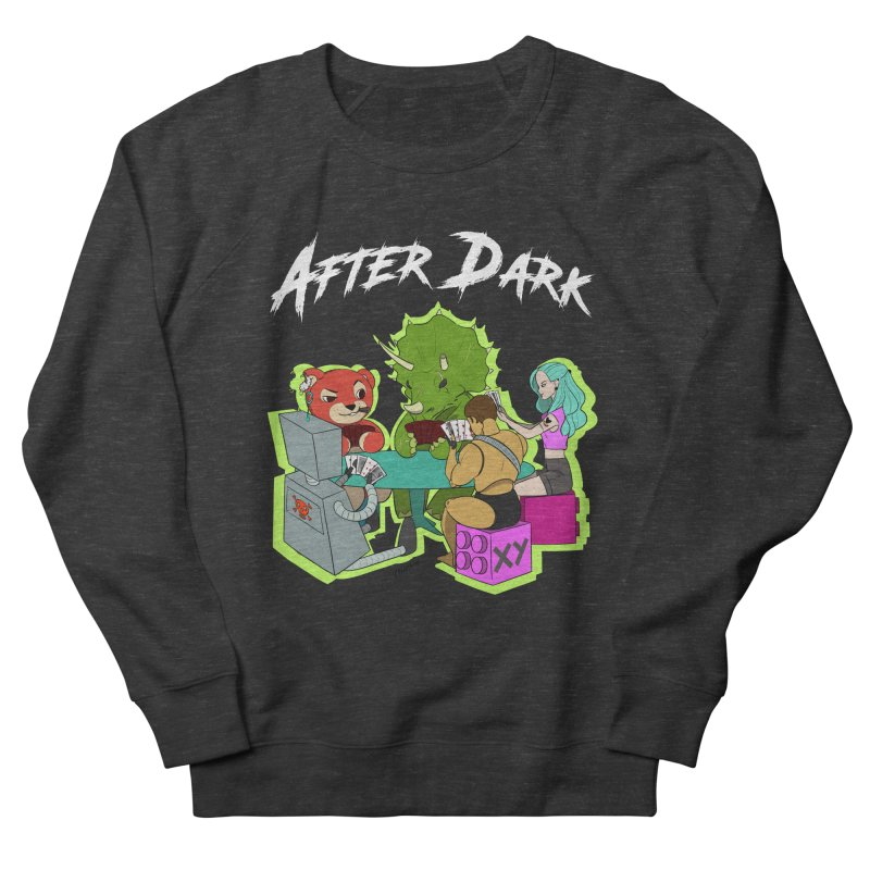 After Dark Women's French Terry Sweatshirt by XY The Brand