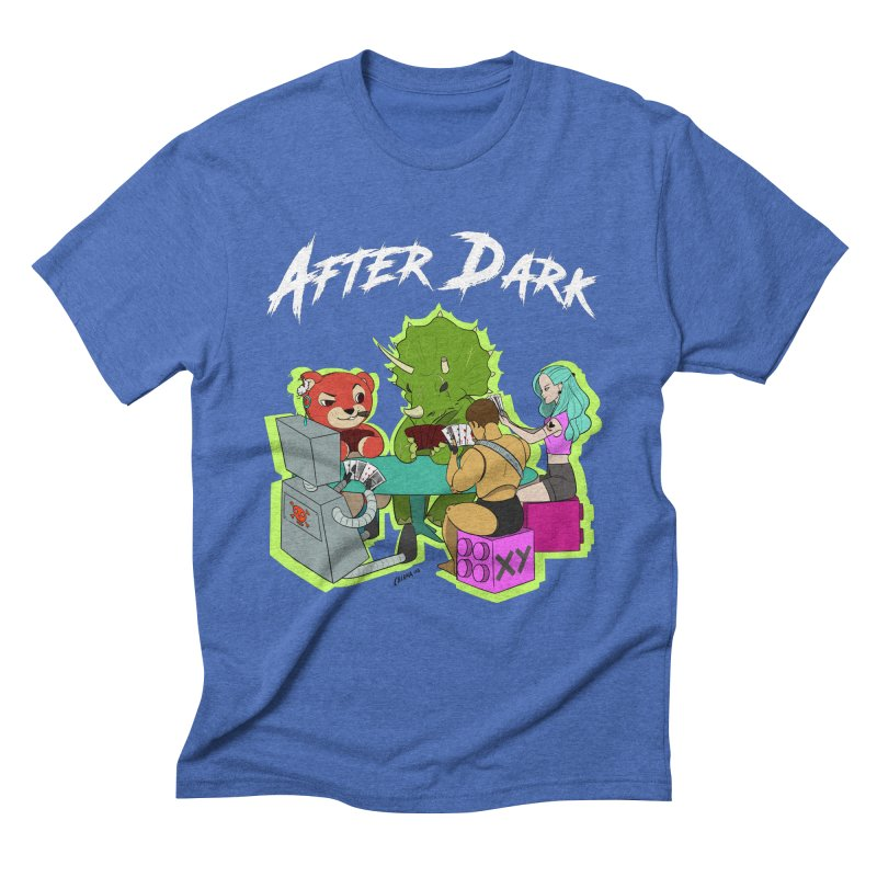 After Dark Men's Triblend T-Shirt by XY The Brand