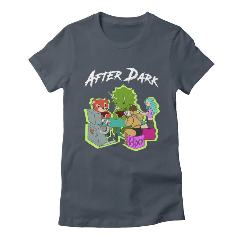 After Dark Women's Fitted T-Shirt by XY The Brand