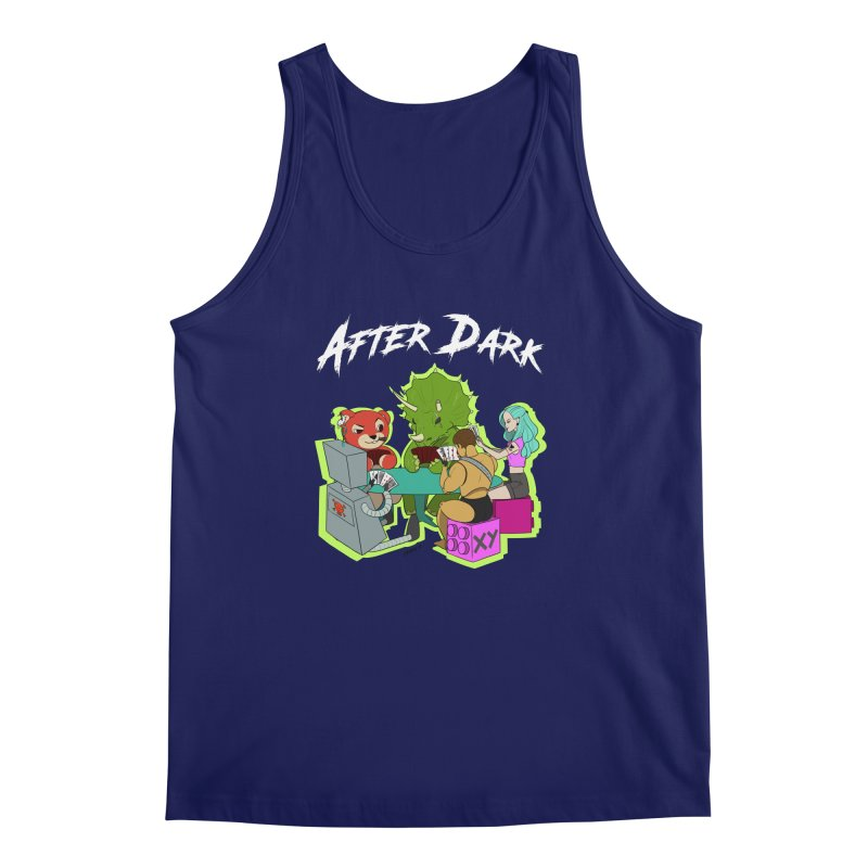 After Dark Men's Regular Tank by XY The Brand
