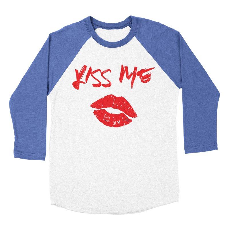 Lip Service by XY Women's Baseball Triblend Longsleeve T-Shirt by XY The Brand