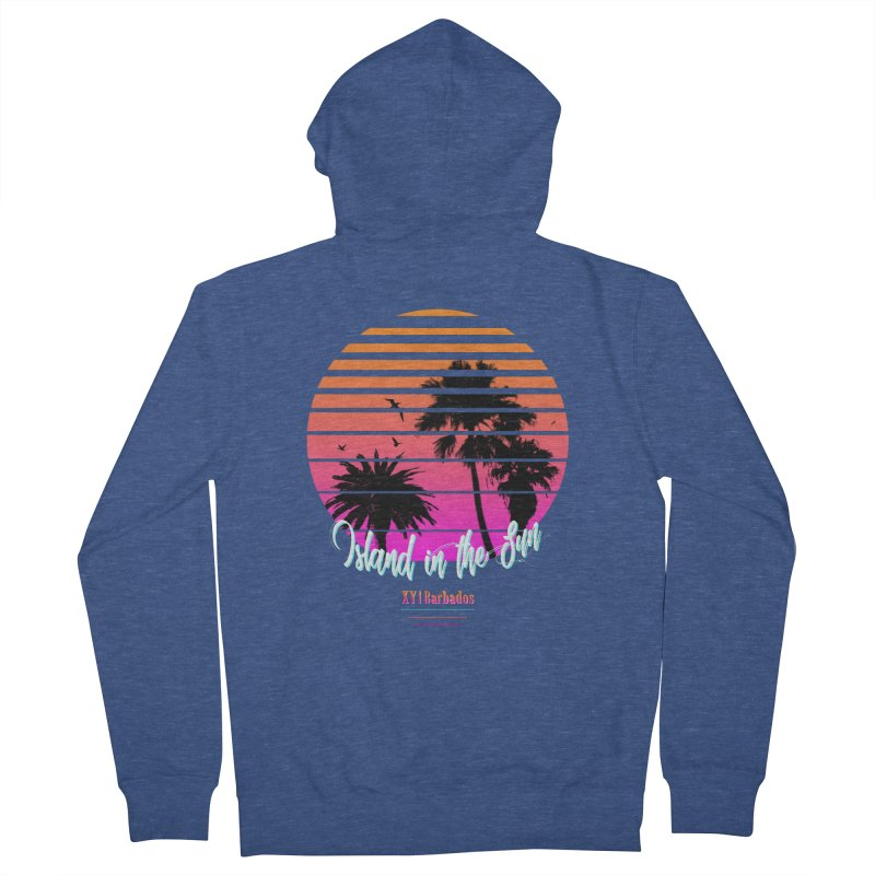 Tropics Men's French Terry Zip-Up Hoody by XY The Brand