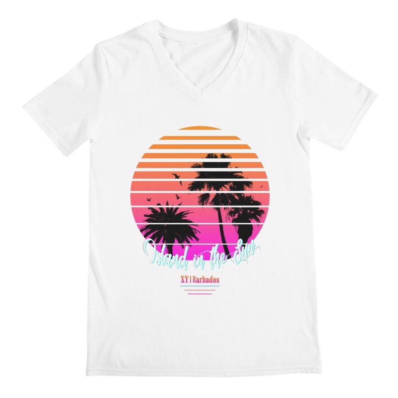 Tropics Men's Regular V-Neck by XY The Brand