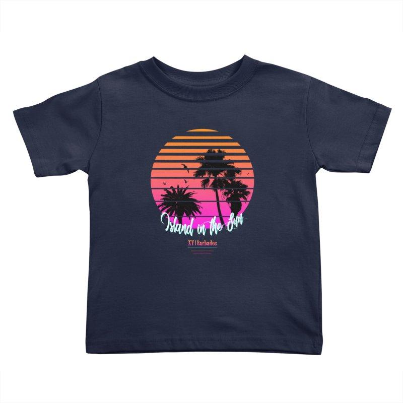 Tropics Kids Toddler T-Shirt by XY The Brand