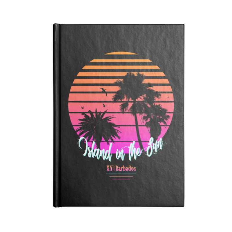 Tropics Accessories Blank Journal Notebook by XY The Brand