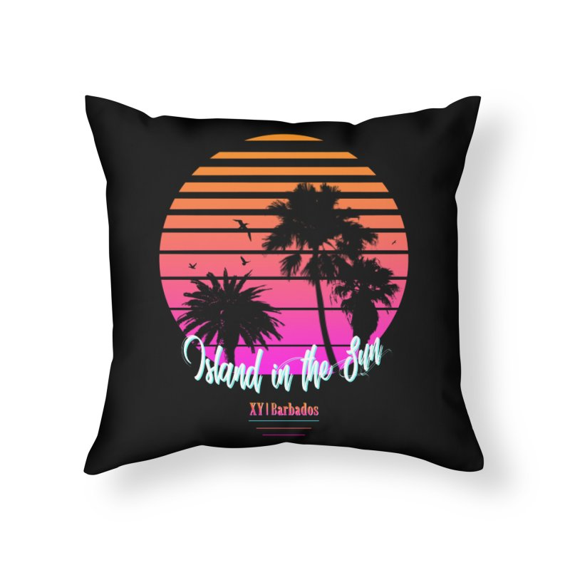 Tropics Home Throw Pillow by XY The Brand