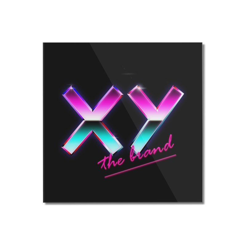 XY Vice Home Mounted Acrylic Print by XY The Brand