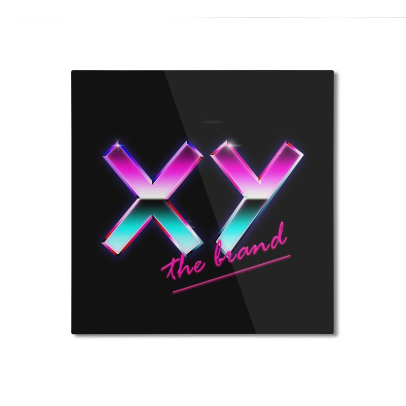 XY Vice Home Mounted Aluminum Print by XY The Brand