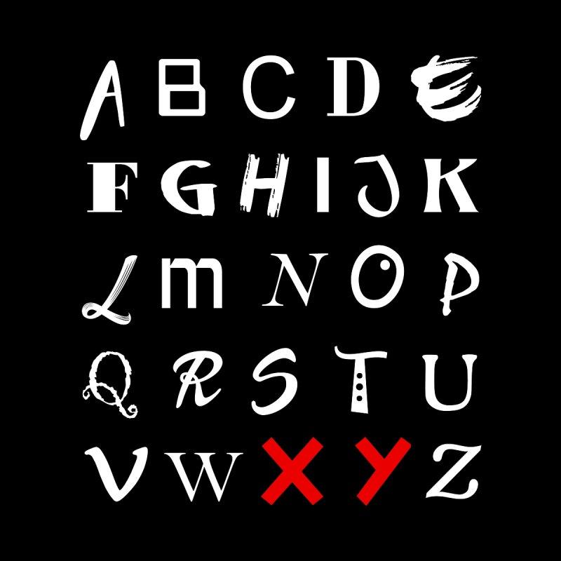 Alphabet Men's Tank by XY The Brand