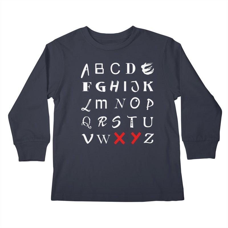 Alphabet Kids Longsleeve T-Shirt by XY The Brand