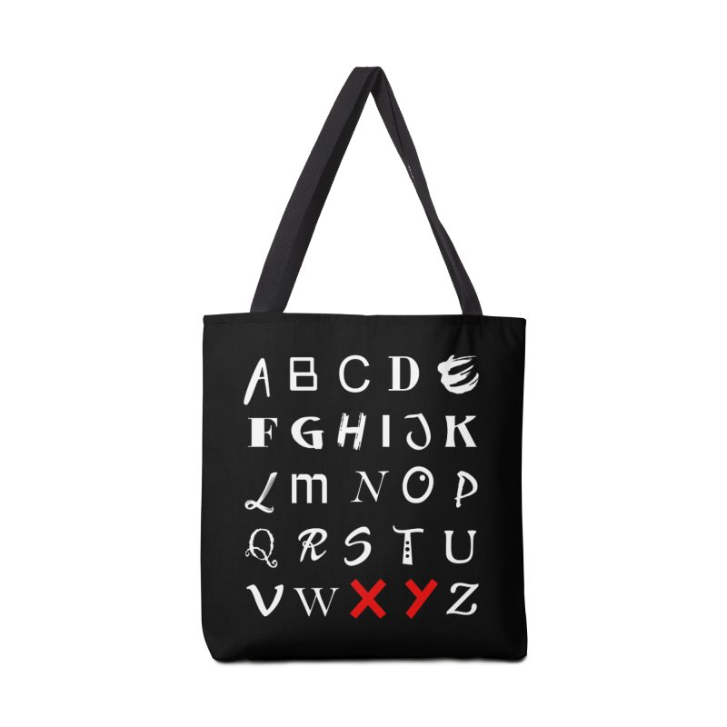 Alphabet Accessories Bag by XY The Brand