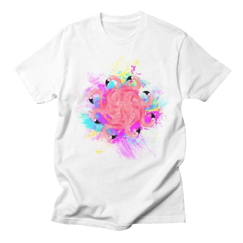 Flamingoscope Men's Regular T-Shirt by XY The Brand