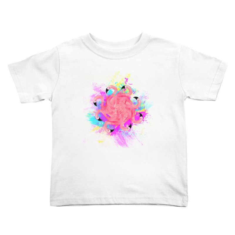 Flamingoscope Kids Toddler T-Shirt by XY The Brand