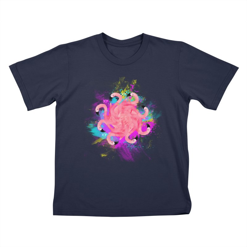 Flamingoscope Kids T-Shirt by XY The Brand