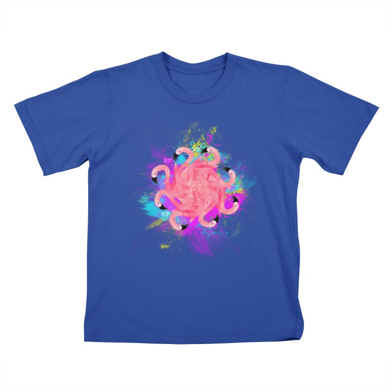 Flamingoscope Kids T-Shirt by XY The Brand