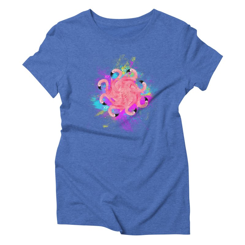 Flamingoscope Women's Triblend T-Shirt by XY The Brand