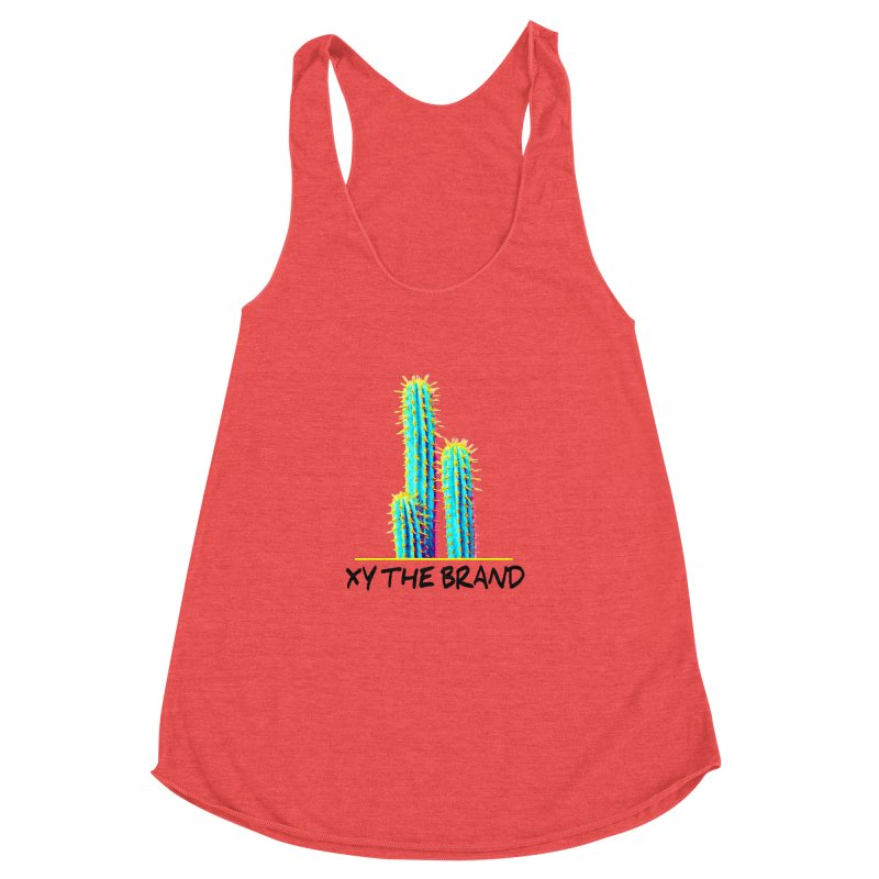 Just Some Pricks Women's Racerback Triblend Tank by XY The Brand
