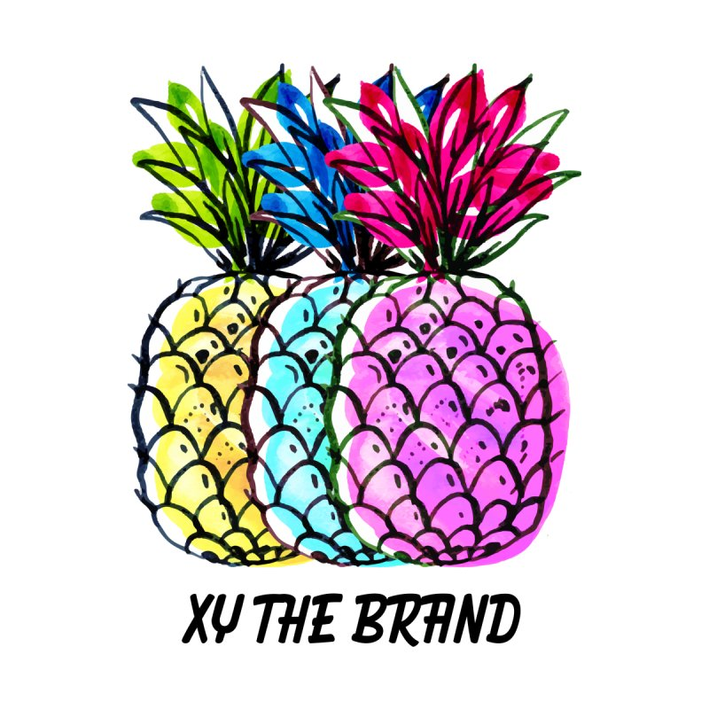 Pineapples None  by XY The Brand