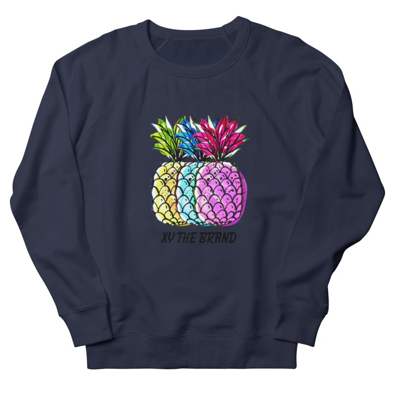 Pineapples Women's French Terry Sweatshirt by XY The Brand