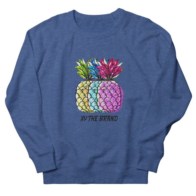 Pineapples Men's French Terry Sweatshirt by XY The Brand