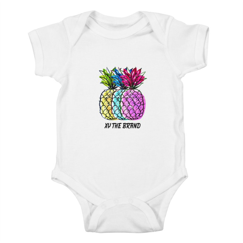 Pineapples Kids Baby Bodysuit by XY The Brand