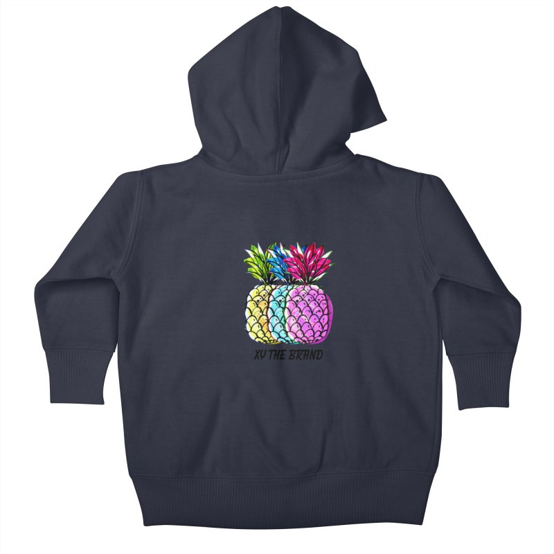 Pineapples Kids Baby Zip-Up Hoody by XY The Brand