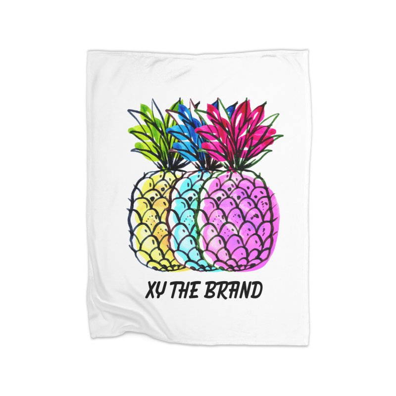 Pineapples Home Blanket by XY The Brand