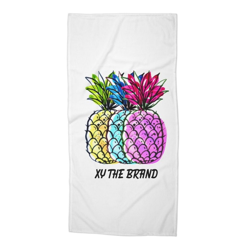 Pineapples Accessories Beach Towel by XY The Brand