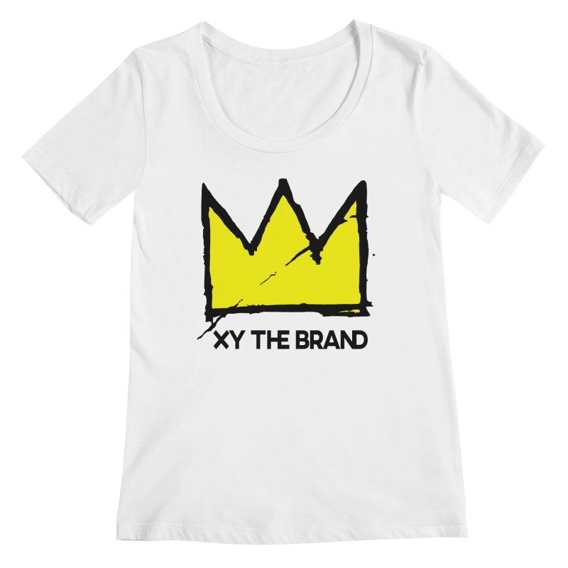 XY Basquiat Women's Regular Scoop Neck by XY The Brand