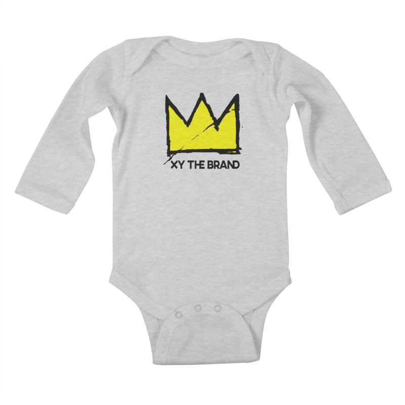 XY Basquiat Kids Baby Longsleeve Bodysuit by XY The Brand