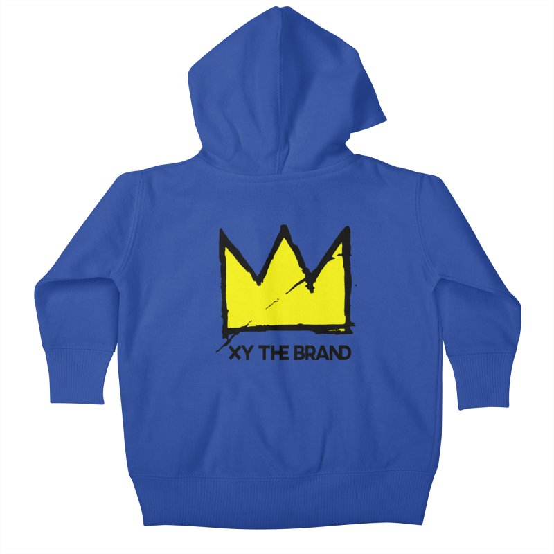 XY Basquiat Kids Baby Zip-Up Hoody by XY The Brand