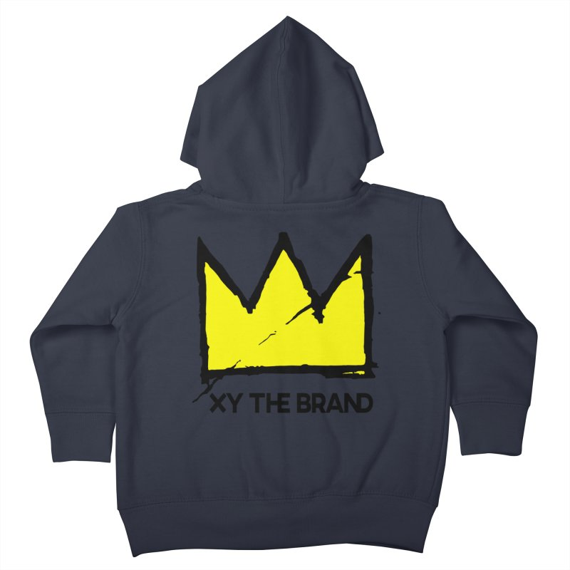 XY Basquiat Kids Toddler Zip-Up Hoody by XY The Brand