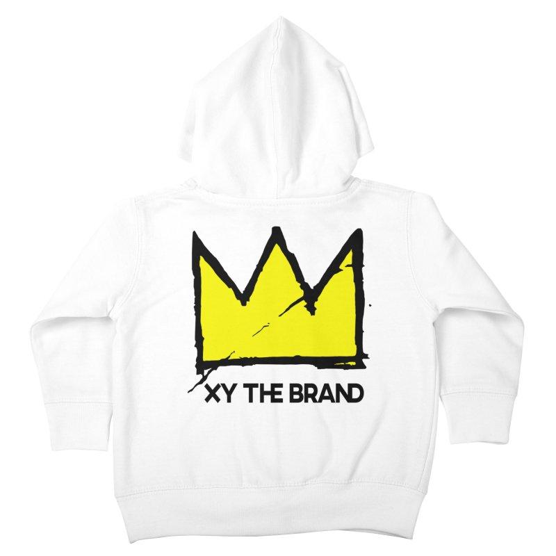 XY Basquiat Kids Toddler Zip-Up Hoody by XY The Brand