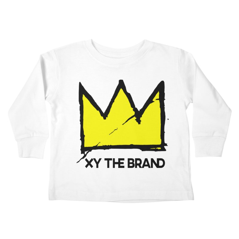 XY Basquiat Kids Toddler Longsleeve T-Shirt by XY The Brand