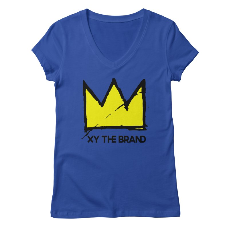 XY Basquiat Women's Regular V-Neck by XY The Brand