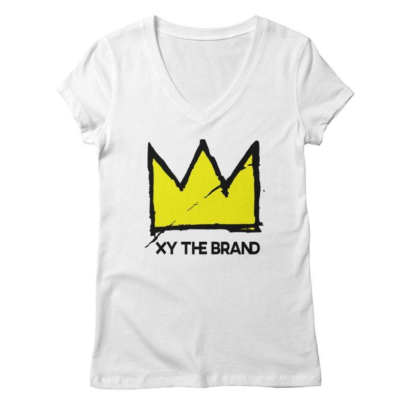 XY Basquiat Women's Regular V-Neck by XY The Brand