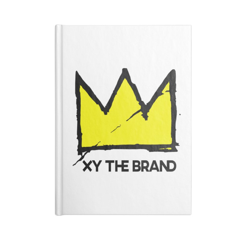 XY Basquiat Accessories Blank Journal Notebook by XY The Brand