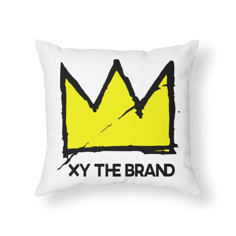 XY Basquiat Home Throw Pillow by XY The Brand