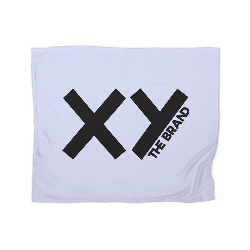 XY The Brand Home Fleece Blanket Blanket by XY The Brand