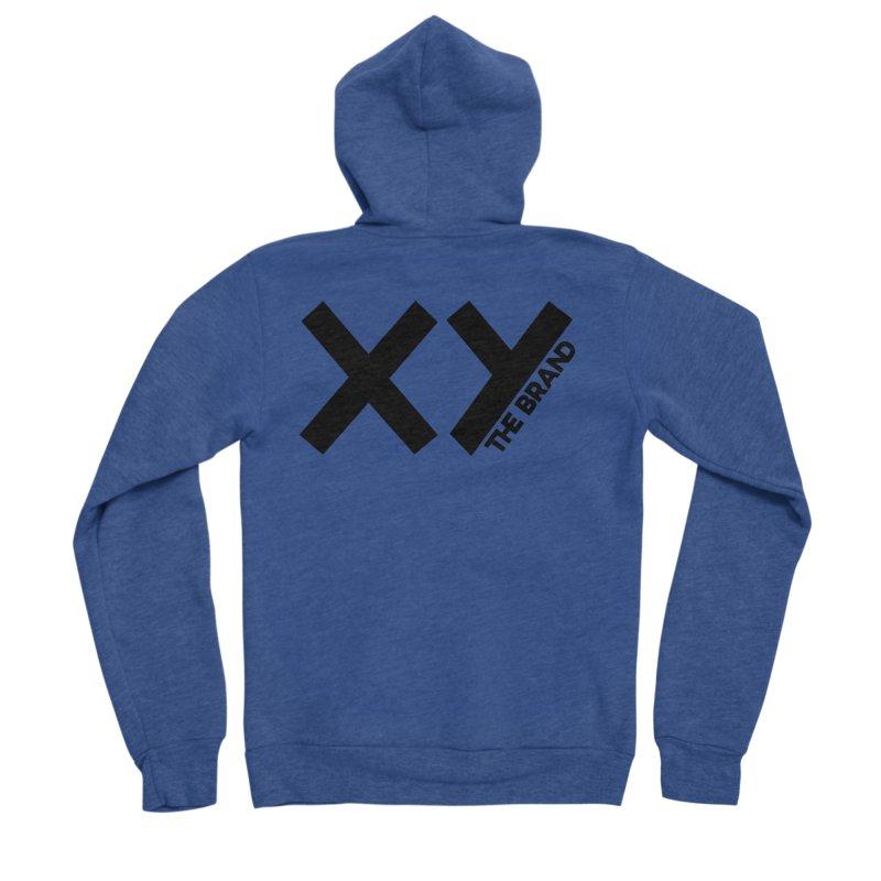 XY The Brand Women's Sponge Fleece Zip-Up Hoody by XY The Brand