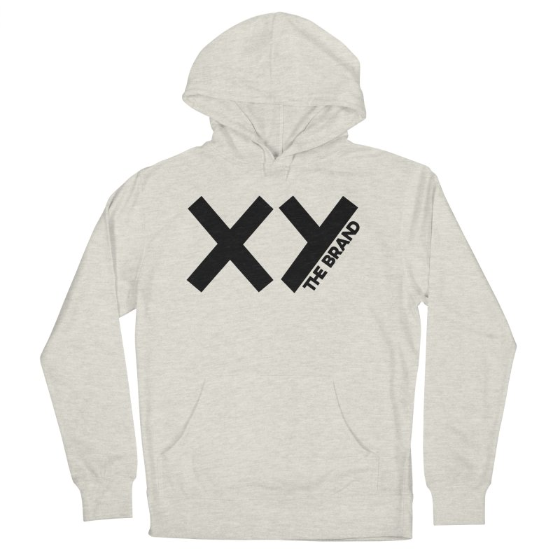 XY The Brand Women's French Terry Pullover Hoody by XY The Brand