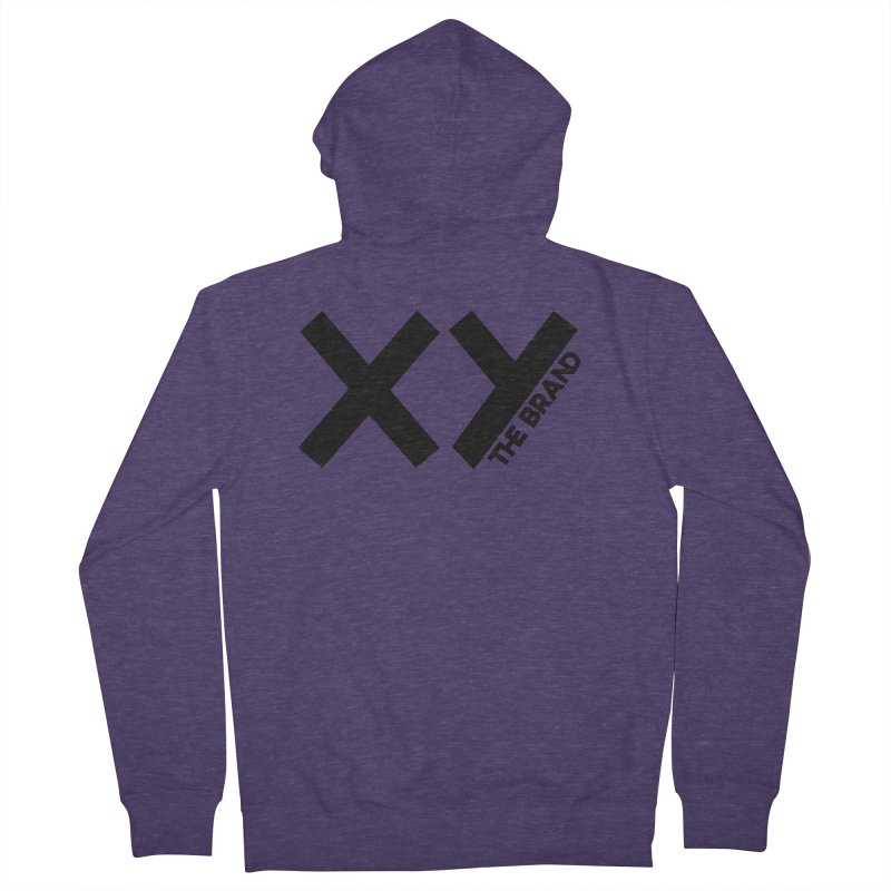 XY The Brand Men's French Terry Zip-Up Hoody by XY The Brand