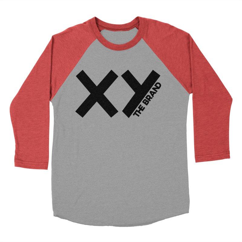 XY The Brand Women's Baseball Triblend Longsleeve T-Shirt by XY The Brand